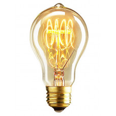 Лампа ретро Arte Lamp ED-A19T-CL60 BULBS