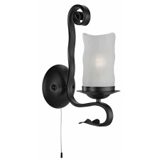 Бра Arte Lamp SCROLL A7915AP-1BK черный